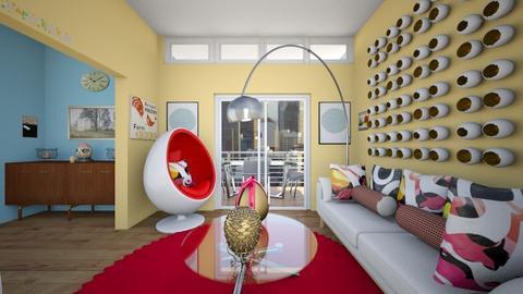 Egg Living Room - Living room  - by SammyJPili
