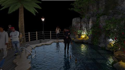 Hotel Pool  - Modern - Garden  - by tjmax