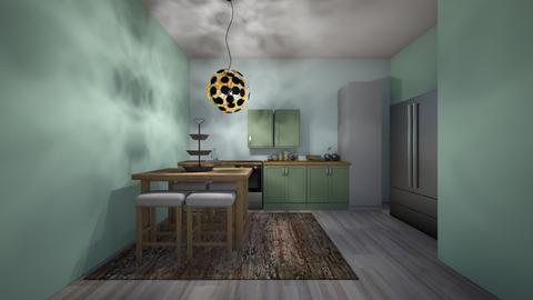 mint kichten - Glamour - Kitchen  - by jmeyer2x4