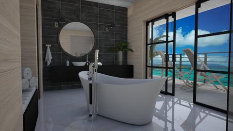 Holiday treat - Bathroom  - by Tuija