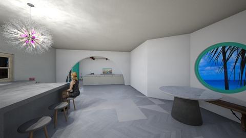 my kitchen - Modern - Living room  - by starpolion35