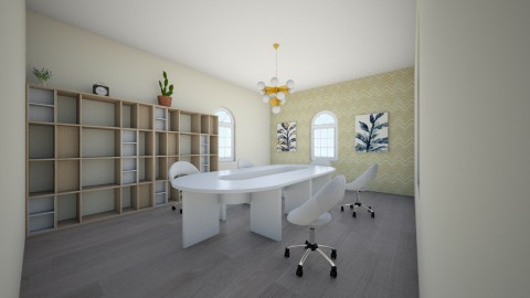 like - Modern - Office  - by Daria_Arekhta