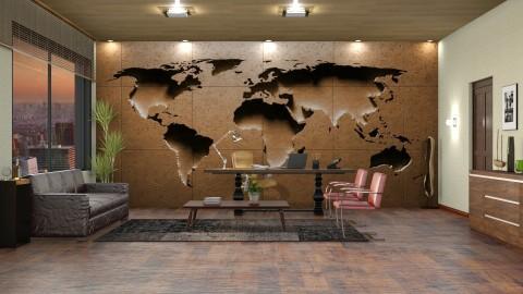 Mapa madeira art - Office  - by Alecio