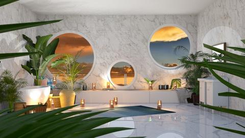 Tranquil Bathing area - Modern - Bathroom  - by Pheebs09