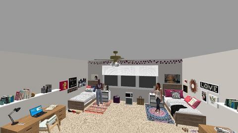 Dorm Room - by trishk82
