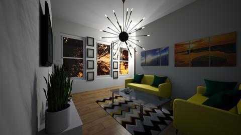 plain living - Living room  - by mayaann_10