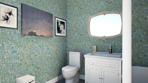 Moms bathroom - Bathroom  - by Kayla Russeau
