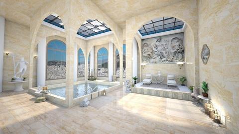 Swimming baths - by ginamelia22