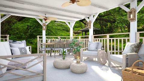 Summer Porch - by lyrikkah