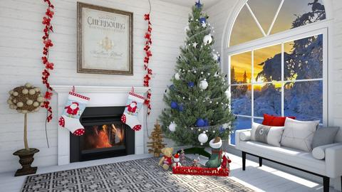 Navidad - Living room  - by rasty