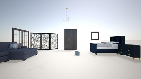 Blueberry Themed bedroom - Minimal - by Derin_