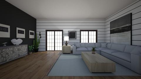 bw - Living room - by dena15
