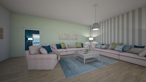 living 3 - Minimal - Living room - by Iirini