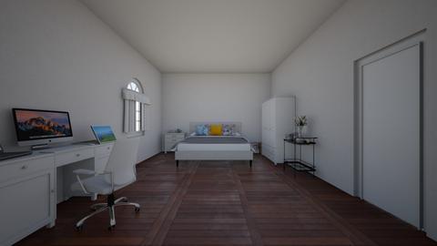 Original Set Design - Modern - Bedroom  - by lhong