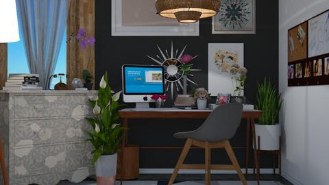 Eclectic Office - Office - by boho_dreamer