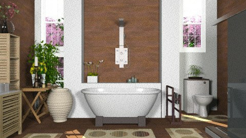 Country bath... - Country - Bathroom  - by KittiFarkas