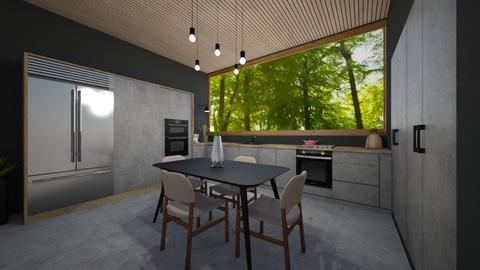 Modern Kitchen - Kitchen  - by heyfeyt