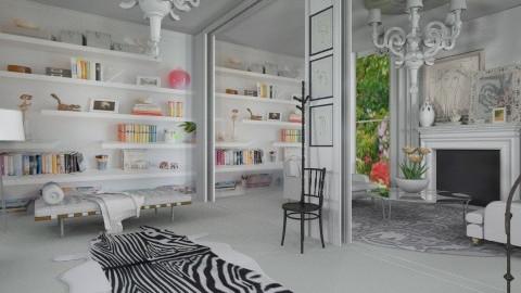 Getaway - Eclectic - Living room  - by AlSudairy S
