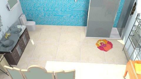My bathroom - Glamour - Bathroom  - by daniemmet