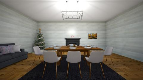 Christmas Room - Modern - by Elodie_Bear