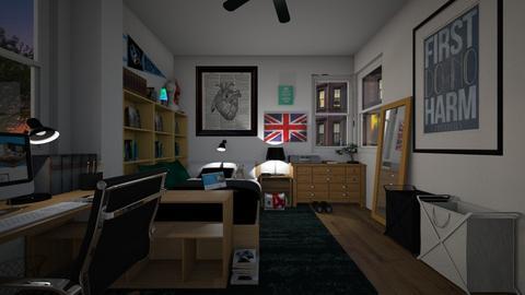 Med School Apartment Bdrm - Bedroom  - by SammyJPili