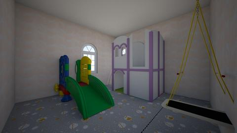 Indoor play ground - Vintage - Kids room  - by Obbie_Doobie