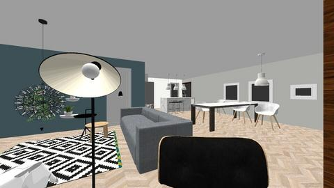 living - Living room - by tinegregoor