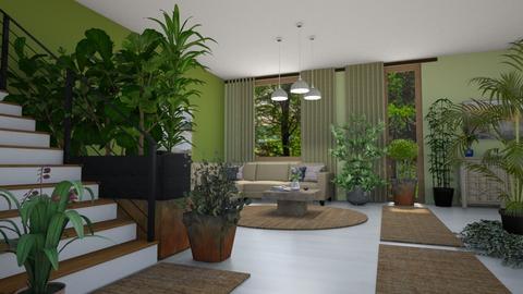 indoor plant room - by ilcsi1860