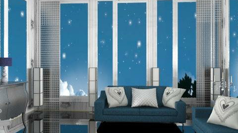 midnight - Glamour - Living room  - by trees designs