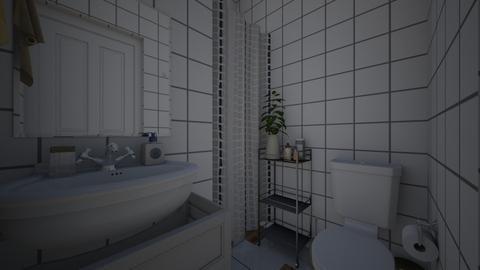 Mine - Bathroom  - by Xenia Jones