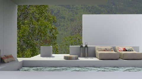 pool - Modern - Garden  - by monicabl