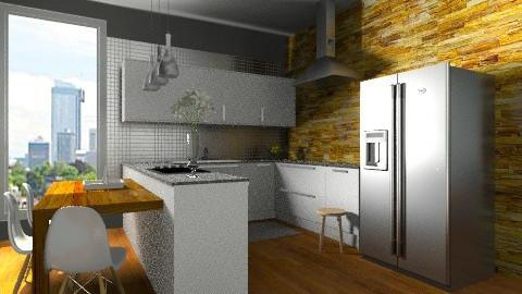 kitchen C - Modern - Kitchen  - by sahfs