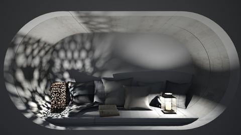 Bed Nook 3 - Minimal - Bedroom  - by its lia
