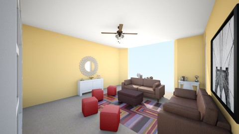 Family Room - Living room - by nicciwillis