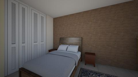 guest room - Bedroom  - by LinnaK