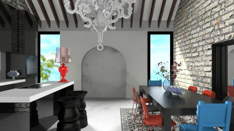 Damuso Feast Room - Modern - Kitchen  - by 3rdfloor