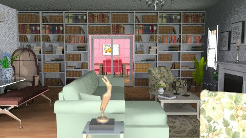 test_L3 - Vintage - Living room  - by jackiefruit