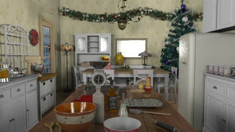 Days before... - Country - Kitchen  - by Bibiche