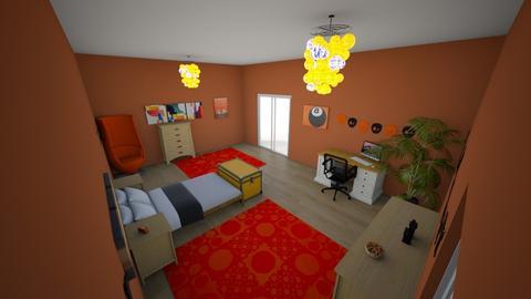 my dream bedroom - Bedroom - by RALU 1234