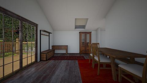 cabin - by paulinem