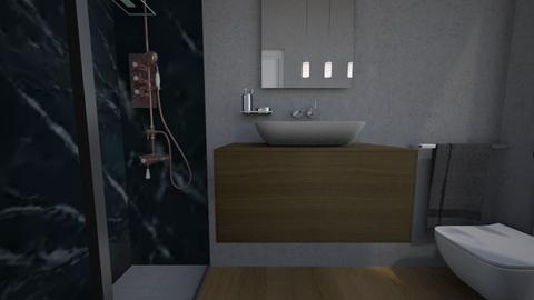 Cologno bagno ospiti17 - Bathroom - by natanibelung