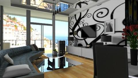 part 4 living room - Modern - Kitchen  - by Nhezi