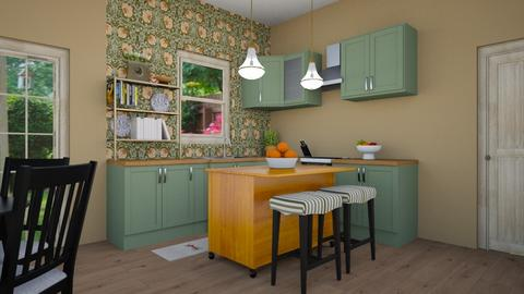 eclectic kitchen - Eclectic - Kitchen  - by steker2344