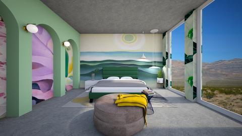 Okeeffe Bedroom - Bedroom - by heyfeyt