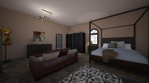 Guest Room - Bedroom  - by yvonster