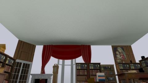 Stanhope library - Retro - by seneca98