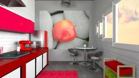 in proyect - Kitchen  - by bluevioletspoprock