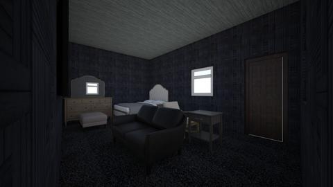 Hotel Room - Modern - Bedroom  - by cheesygirl2