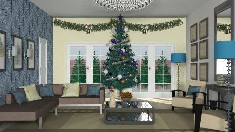 gullandchristmas2 - Glamour - Living room  - by Gulland