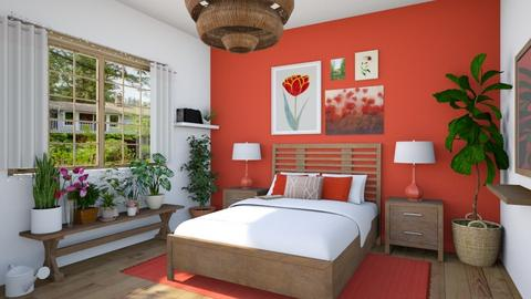 poppies - Bedroom - by Ritix